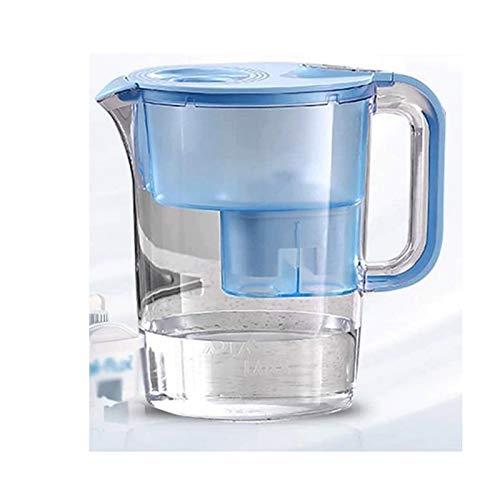 Adesign 3.5L Flow-Wasser-Filter-Behälter, kompatibel mit Kartuschen, Wasserfilter, die mit der Reduktion Helfen Kalk- und Chlor