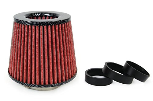 Universele high performance auto-luchtfilter inductiekit sport Car Cone Air Filter