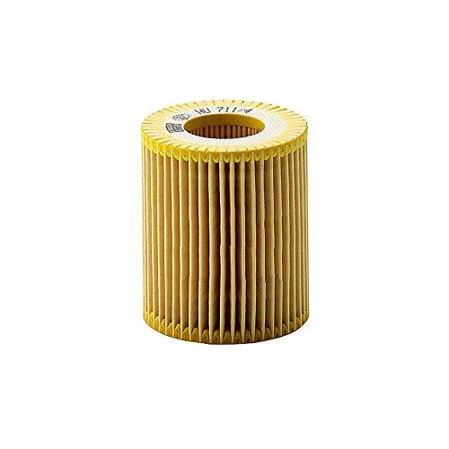 Original MANN-FILTER Ölfilter HU 711/4 X – Ölfilter Satz mit Dichtung / Dichtungssatz – Für PKW