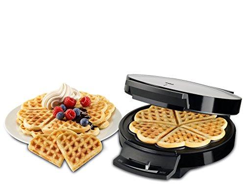 Trisa Stampo Elettrico Waffle, 5 Posti, 1000 Watt