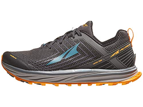ALTRA AFM1957F Men's TIMP 1.5 Trail Running Shoe, Gray/Orange - 9.5 D(M) US