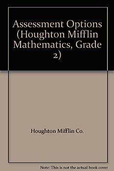 Paperback Assessment Options (Houghton Mifflin Mathematics, Grade 2) Book