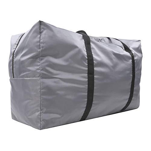 Daytesy Bolsa Plegable - 75x45x30cm Bolsa de Transporte para Kayak Bolsa para Bote Inflable Bolsa de Almacenamiento Plegable Bolsa de Transporte Accesorio para canotaje Bote Inflable Gris(Gris)