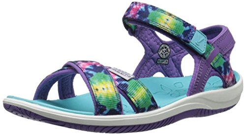 KEEN Phoebe Sandal (Toddler/Little Kid), Purple Tie Dye, 8 M US Toddler