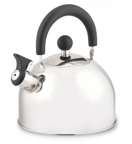Hoffmanns Teekessel Wasserkessel 2 Liter aus Edelstahl - Induktionsfähig - 10370