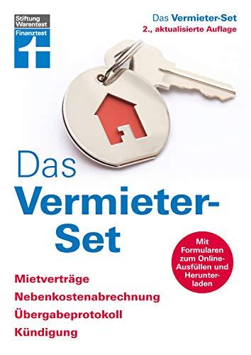 Das Vermieter-Set: Mietverträge, Nebenkostenabrechnung, Übergabeprotokoll, Kündigung