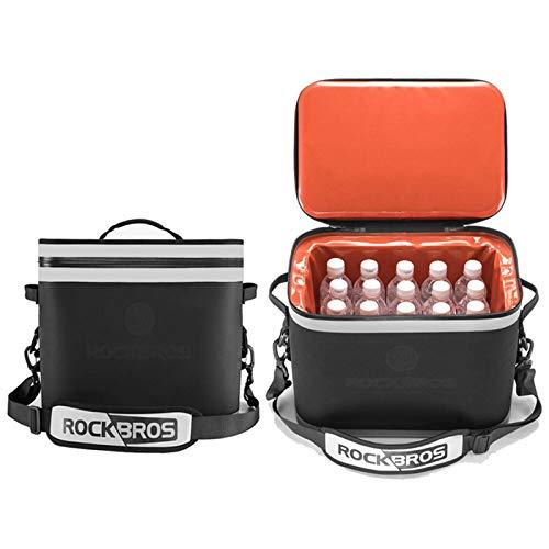 Huangjiahao Cesta de picnic de 18 l para exteriores, bolsa de picnic, bolsa de camping, bolsa enfriadora para camping, senderismo, viajes