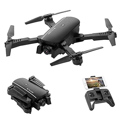 Drone pieghevole con videocamera HD 1080P FPV, quadricottero RC, controllo dei gesti, mantenimento dell'altitudine, modalità senza testa, capovolgimenti 3D, tempo volo lungo 30 minuti, per adulti e