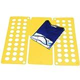 Takit Planche À Plier Le Linge Noir - 70x59cm - Planche À Plier Les T-Shirts - Planche À Plier Les Robes Pantalons Serviettes T-Shirts/Planche À Plier Le Linge