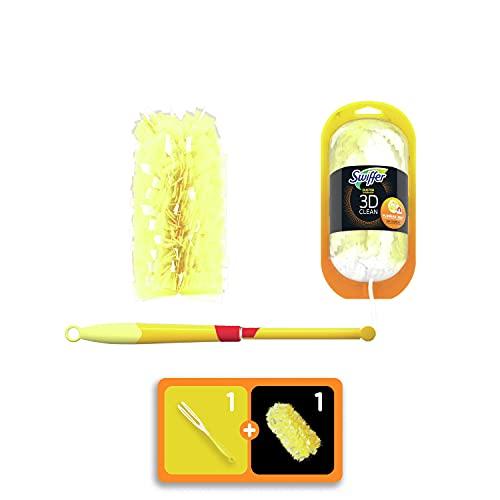 Kit plumero Duster 360: puesta en marcha con mango + recambio, de Swiffer