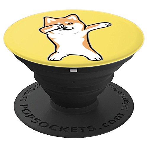 Dog Meme DABBING SHIBA INU DOGE Phone Grip Holder