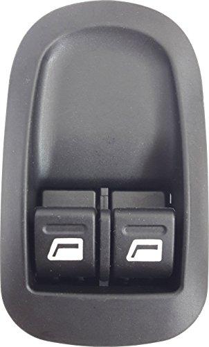 TarosTrade 12-0427-L-94750 Inteructor De Elevalunas Delantero Doble Con Conector De 6 Pin
