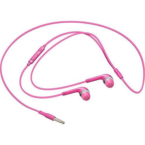 Samsung In-Ear Kopfhörer Premium Stereo-Headset mit Integrierter Fernbedienung und Mikrofon, pink