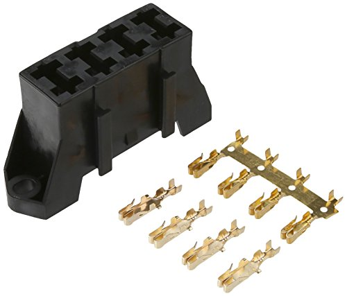 Dorman 85668 Black Fuse Block Holds 4 Blade Fuses