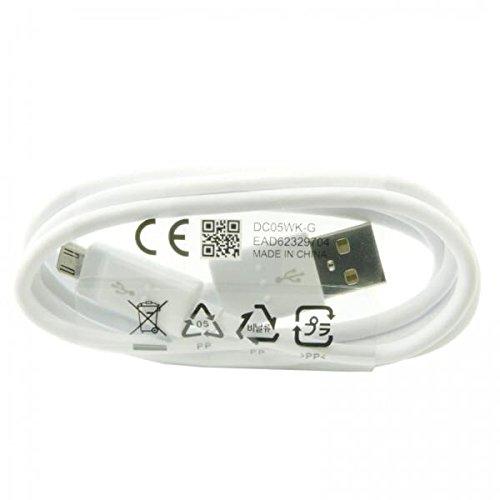 Weiß Original LG G4G3G G2High Speed 20AWG Micro USB-Ladegerät führen Kabel (keine Einzelhandelsverpackung)