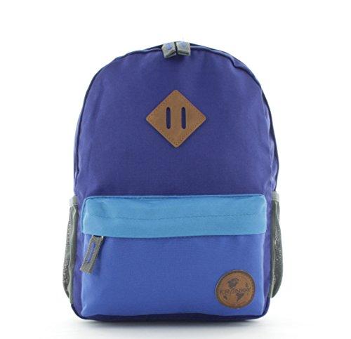 Franky Kinderrucksack KRS4 Junior 12 Liter Backpack Blau/Blau