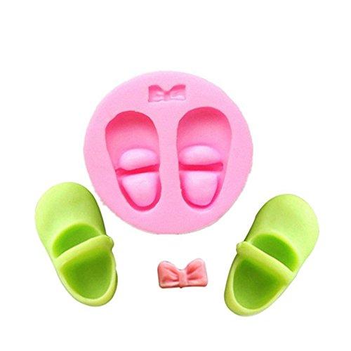 Baby Schuhe Form Kuchen dekorieren Fondant Silikon Zucker Craft Formen
