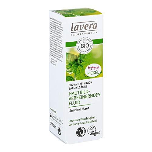 LAVERA hautbildverfeinerndes Fluid Minze 50 ml Creme