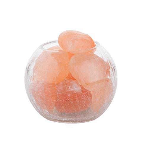 Preisvergleich Produktbild Yaione Creative Lighting Himalaya-Salz-Lampe dimmbar USB Echt Himalaya Himilian Pink Salt Crystal Rock Lampe gut for die Gesundheit Kleinen Mineral Negativen Lonic Stein Lava Salz Nachtlicht for Schla