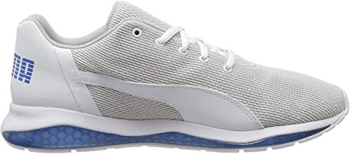 Puma Herren Cell Ultimate Point Sneaker, Weiß White-High Rise-Palace Blue, 43 EU