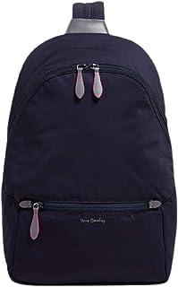Vera Bradley Midtown Convertible Backpack in Classic Navy