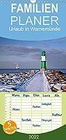 Urlaub in Warnemuende - Familienplaner hoch (Wandkalender 2022 , 21 cm x 45 cm, hoch): Ein kleiner Fischerort an der Ostseekueste (Monatskalender, 14 Seiten )