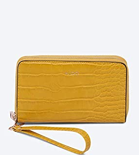 Aldo Accessories Women's Aforeri Wallet, One Size, Yellow