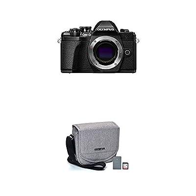 Olympus OM-D E-M10 Mark III camera body (black), Wi-Fi enabled, 4K video by Olympus