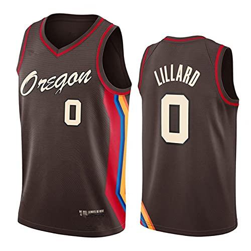 YXST Camiseta De Baloncesto NBA # 0 CláSico Transpirable Chaleco De Secado RáPido,RéPlica De Jugador De Baloncesto,para JóVenes Sudadera Unisex Adulto,XL