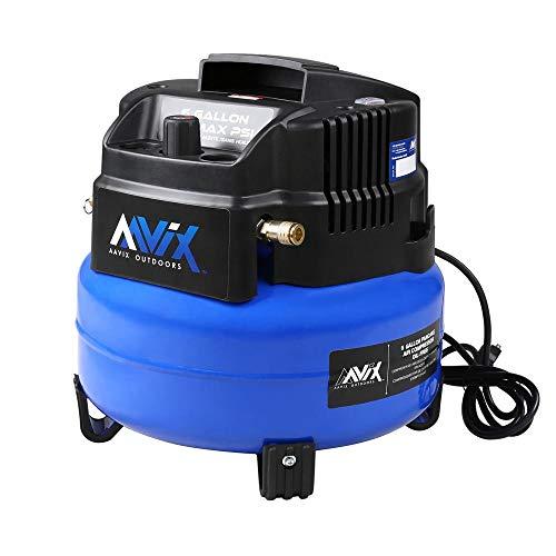 AAVIX B08DBZ3TRZ Pancake Air Compressor