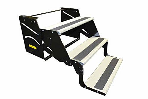 Elkhart Tool RV Motorhome Camper Trailer 24 Single Step 7 Drop//Foldaway Entry Step
