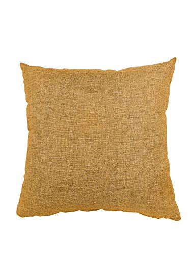 chilly pilley Small Cushion Garden Cushion Decorative Cushion Small Pillow (50 x 50 cm, Camel)