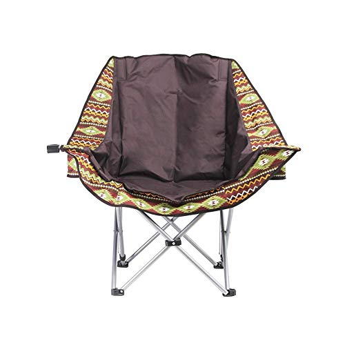 Silla de camping, portavasos, mesa auxiliar desmontable y bolsa, adecuada para exteriores, senderismo, pesca