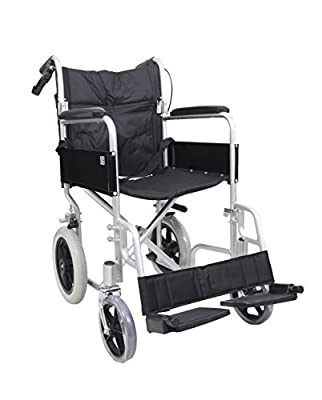 AMW004 Angel Mobility Lightweight Aluminum Folding Transit Travel Wheelchair Net Carry Weight Only 11 KG
