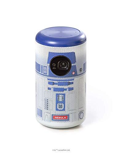 Anker Nebula Capsule II R2-D2™ Edition (1,138台限定 シリアルナンバー付オリジナルトラベルケース付属)【200 ANSIルーメン / オートフォーカス機能 / 8W スピーカー】