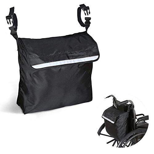 Nisorpa 18 x 16inch Wheelchair Backpack Bag,Wheelchair Storage Bag, for Travel Storage Tote, Waterproof Backpack, Fits Most Scooters, Walkers