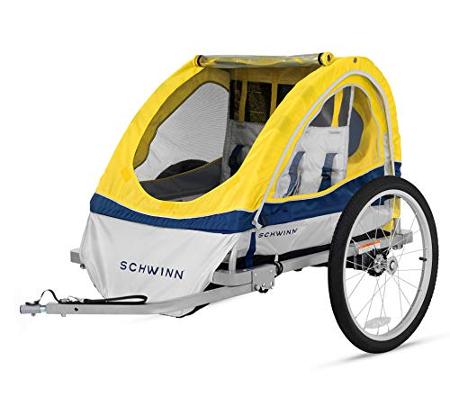 Schwinn Echo Kids/Child Double Tow Behind