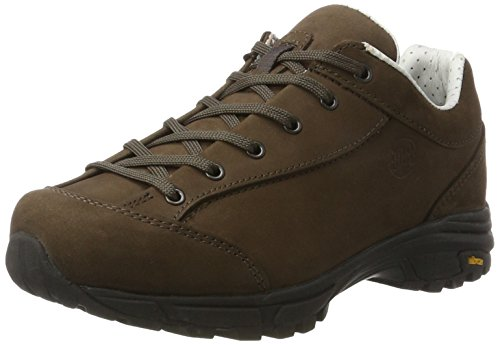 Hanwag Valungo Bunion, Damen Trekking- & Wanderhalbschuhe, Braun (Erde_Brown), 41.5 EU (7.5 UK)