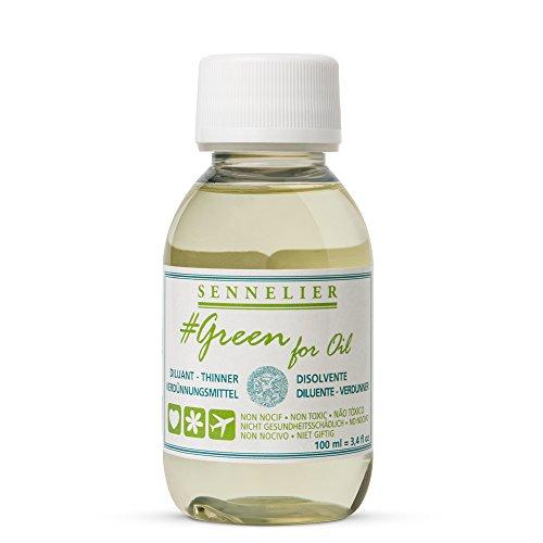 Sennelier : Green For Oil : Thinner : 100ml