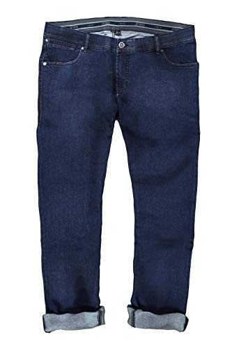 JP 1880 Herren große Größen bis 70, Jeanshose, 5-Pocket, Regular-Fit, Raw-Denim-Hose darkblue 64 714283 94-64