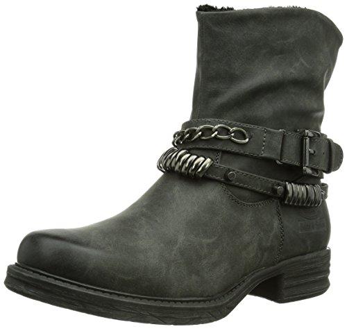 Dockers by Gerli 354471-133097, Damen Biker Boots, Grau (grey 097), 39 EU (6 Damen UK)