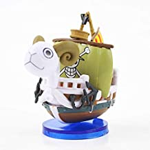 2Styles New Hot Toy قطعة واحدة Going Merry Thousand Sunny Pirate Boat Model Mini Figure Ship Collectible Doll