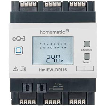Homematic Wired Rs485 Schließerkontakt 12 Eingänge Hutschienenmontage Baumarkt