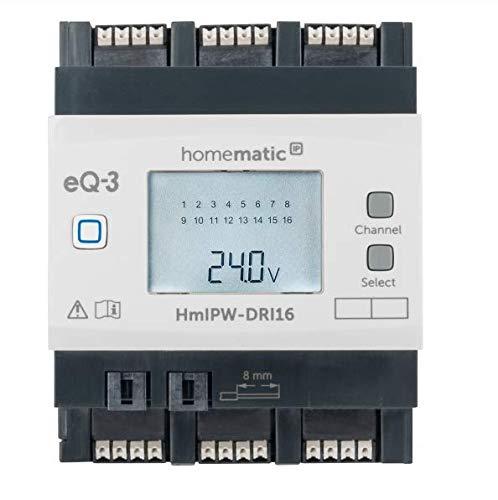 Homematic IP Wired 16-fach-Eingangsmodul HmIPW-DRI16