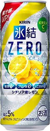 キリンビール 氷結 ZERO シチリア産レモン 500ml×24 [7577]