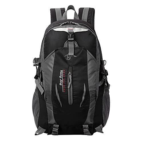 FLYKEPER Lightweight Backpack Nylon Camping Bag with Adjustable Chest Strap for Hiking, Camping,...