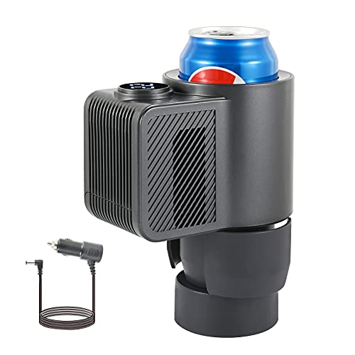 Darway ドリンククーラー ドリンクホルダー 保冷 12V車用 カー用品 急速冷却 ドリンクホルダー ペットボトルなどに適用