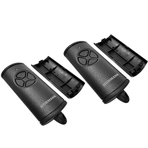 2 Hörmann Handsender Cover HSE4BS Leer Gehäuse ohne Batterie ohne Platine Ersatzteil Ober- und Unterschale