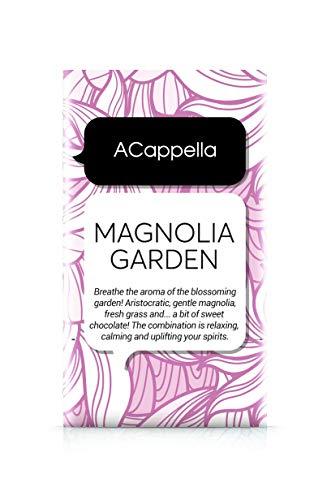 ACappella Duftsäckchen Magnolia Garden - Vorparfümiertes Trockenparfüm für Zimmer, Schubladen, Kleiderschrank, Schränke, Autos - 11g