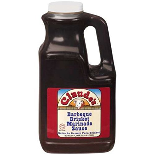 Claudes Brisket Marinade Sauce - 64 ounce - BBQ Sauce, Meat Tenderizer, Steak Sauce